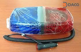 Đèn hộp ngắn xe ưu tiên LED Light Bar LED-235L dài 30cm, nam châm hút dính,  tẩu nguồn | Nhà Phân phối Cung cấp Đèn Loa Còi Cảnh báo Báo hiệu Tín