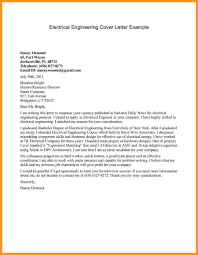6 Engineering Cover Letter Buisness Letter Forms