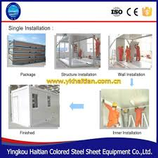 Mobile Kitchen Equipment Mobile Kitchen Container Modular Prefabricated Finished Prefab