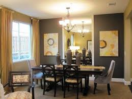 Home Design   Glamorous Dining Room Curtains Ideass - Modern dining room curtains
