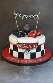 Disney Cars Birthday Cake Jackson Storm And Lightning Mcqueen Cars