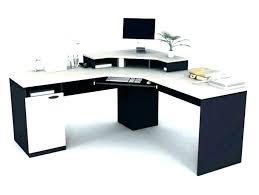 Office corner desk Walnut Shaped Office Desk White Cheap Corner Conceptoeinfo Shaped Office Desk White Extraordinary Office Desk With Hutch