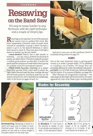 wood slicer bandsaw blade. #1710 resawing on band saw - wood slicer bandsaw blade e