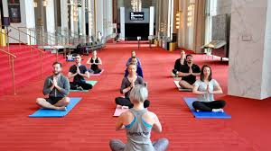 Add to Your Bucket List: Free Yoga at the Kennedy Center