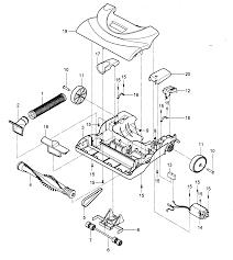 Vacuum parts diagram