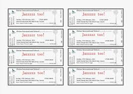 Avery Tickets Templates Avery Raffle Ticket Templates Open Source Design Resume