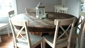round kitchen table sets for 6 rson dining adorable set inch 60 60s style and chairs