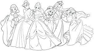 Disney Princess Colouring Pages Uk Coloring At Free Printable