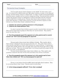 example of persuasive essay persuasive essay sample org persuasive essay examples guided response