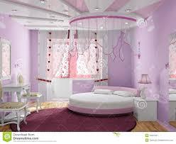 Camere da letto da sogno per ragazze: camera da ragazze fucsia di