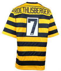 Roethlisberger Bumble Custom Signed Soldsie Jersey Ben