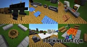 Furniture Ideas map for Minecraft PE 0 13 0
