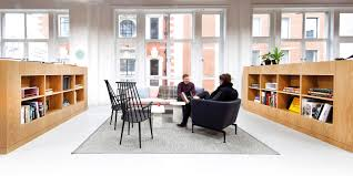 office rooms. Spaces Users Chatting In The Coworking Space With Designer Furniture And Meeting Rooms To Rent. Office R