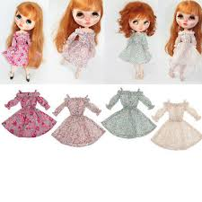 Blythe Doll Size Chart Lovely Doll Clothing Dress Outfit For 12 Blythe Dolls Diy