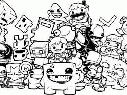 38 Nintendo Coloring Pages Nintendo Characters Coloring Pages