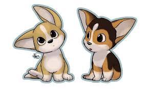 cute animated puppies. Exellent Cute Cute Cartoon Corgis In Animated Puppies N