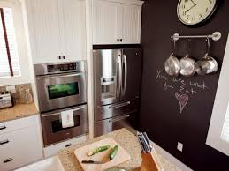 Small Chalkboard For Kitchen How To Paint A Kitchen Chalkboard Wall How Tos Diy