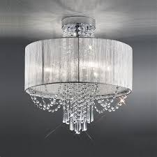empress crystal ceiling light fl2303 6