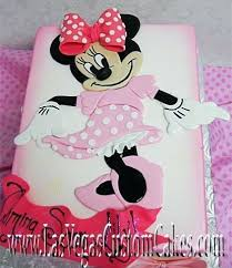 Baby Minnie Mouse 1st Birthday Cakes Babyplanet