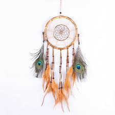 Bamboo Dream Catcher Beautiful Dream Catcher hand woven hemp rope Bamboo ring 26