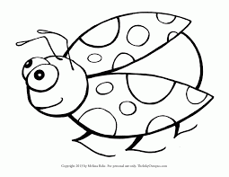Lady Bug Coloring Sheet Ladybug Coloring Pages For Toddlers High Quality Coloring