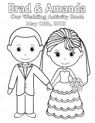 Small Picture Printable Wedding Coloring Pages Kids Throughout Bride And Groom