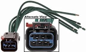 amazon com apdty 756614 wiring harness pigtail connector kit Wire Harness Connector Kit apdty 756614 wiring harness pigtail connector kit repairs or replaces power window motor, wiper motor wire harness connector repair kit