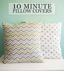 Making Throw Pillow Covers