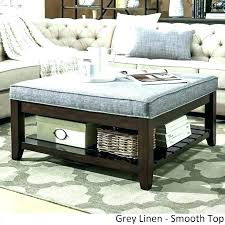large ottoman coffee table. Leather Ottoman Coffee Table Canada Huge Charming Tables Extra Large
