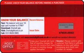 gift card a gift for you one4all