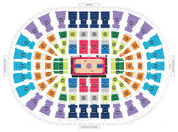 Detroit Pistons Seating Chart Palace Of Auburn Hills Pistons Seating Chart Seating Chart