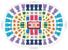 Detroit Pistons Seating Chart Little Caesars Pistons Seating Chart Seating Chart