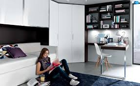 teenage bedroom designs black and white. Black White Contemporary Teenagers Room Teenage Bedroom Designs And