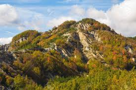 Balze Of Monte Fumaiolo In Emilia-Romagna, Italy. Stock Photo, Picture And  Royalty Free Image. Image 47650682.