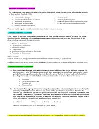 Chordata Taxonomy Chart Ap Bio Taxonomy_hw