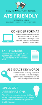 What You Need To Know About Making A Resume Ats Friendly