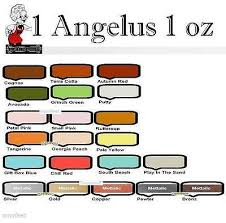 Angelus Acrylic 1x 1oz Paint Dye Leather Metallic Vinyl For
