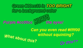Purple Green 10 Troublesome Colors To Avoid In Your Advertising Sitepoint