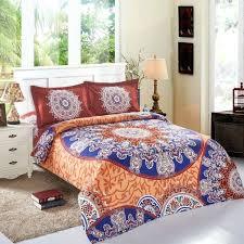 papamima european mandala bohemian style queen size 4pcs duvet cover sets bedding set 100 polyester queen size duvet covers fullqueen size duvet