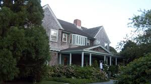 infamous grey gardens house is renovated and able staunch character needed