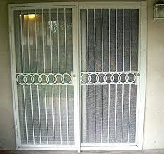 door security bar security screen doors security screen door for patio doors sliding security screen