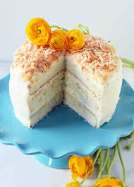 Coconut Cake Modern Honey