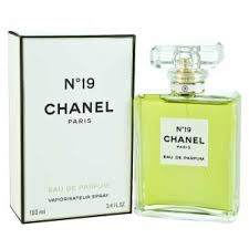 chanel 19 perfume.