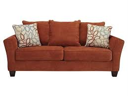 S Taos Style Rust Colored Sofa Seat Yahoo Image Search Results Within Decor 14