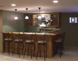 pendant lighting bar. Best Home Bar Pictures With Small Basement And Recessed Lighting Plus Pendant
