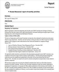 49 Monthly Report Format Templates Word Pdf Google Docs