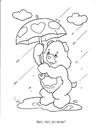 Kleurplaat Koe Schattig Raindrop Kleurplaat Fris Water Droplet
