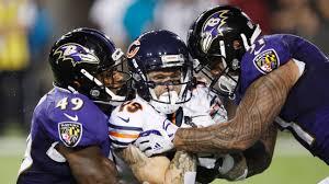 Bennett Jackson of Baltimore Ravens says refs flagged team to 'make people  aware' of helmet rule