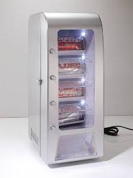 Portable Vending Machines Gorgeous Get A Miniature Vending Machine For Your Desk Geekologie