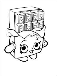 Shopkins Coloring Pages Printable Free At Getcoloringscom Free